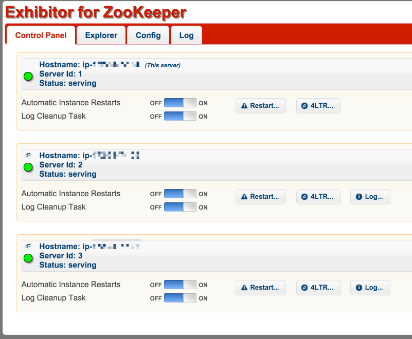Deploying Zookeeper with Exhibitor to AWS using Ansible